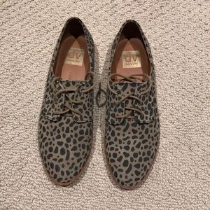 Dolce Vita leopard Oxford shoes